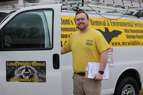 Mike Cottom Jr. - Bat Removal And Exclusion Specialist In Cincinnati Ohio - Bat Guano Cleanup Expert