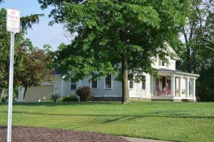 Picture Of The Historic John M. Annis House In North Royalton Ohio Built In 1833