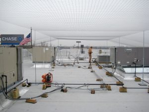 Commercial Bird Netting Installation - StealthNet Bird Netting